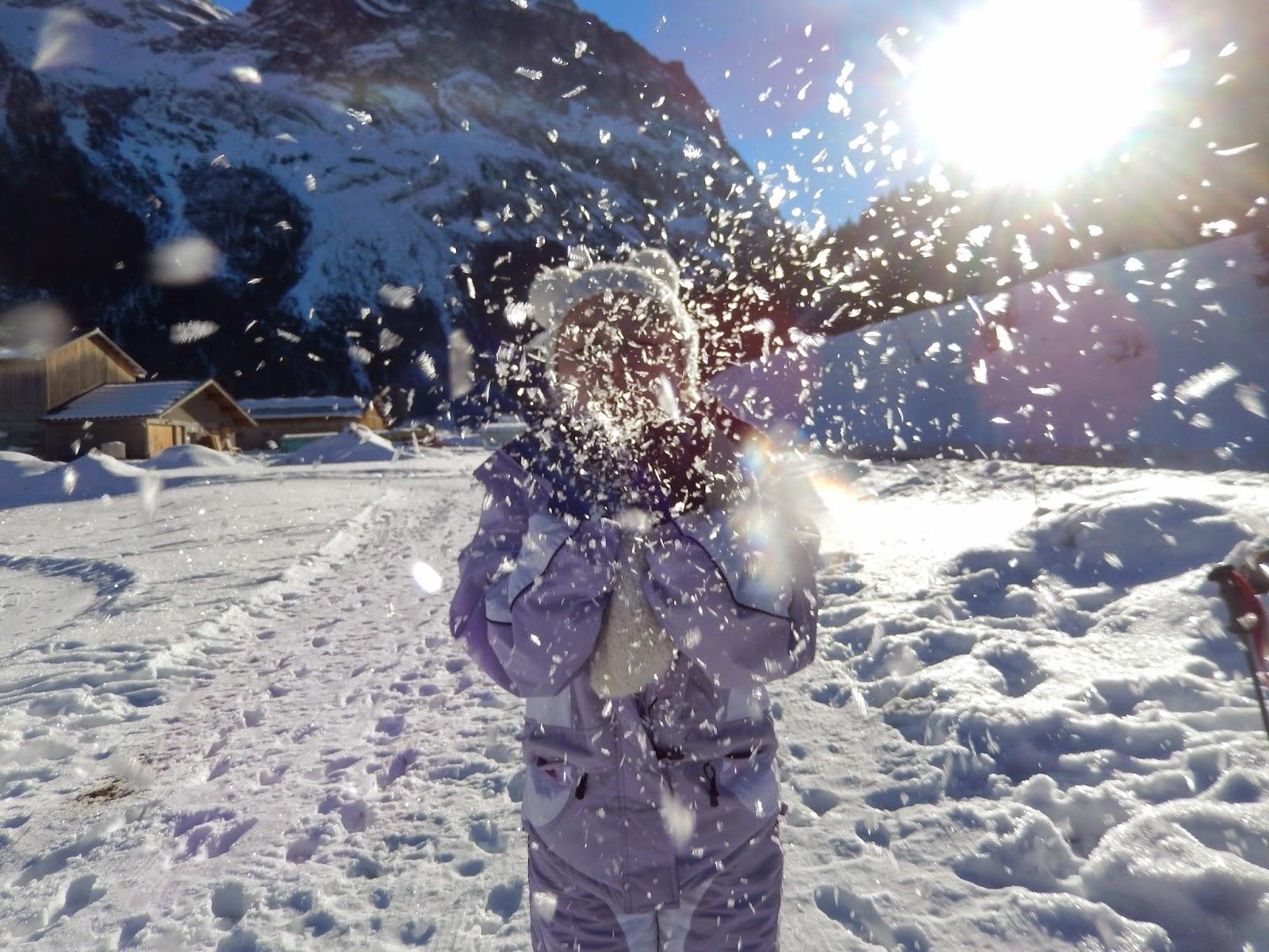 Let it snow : Mes premières vacances au ski