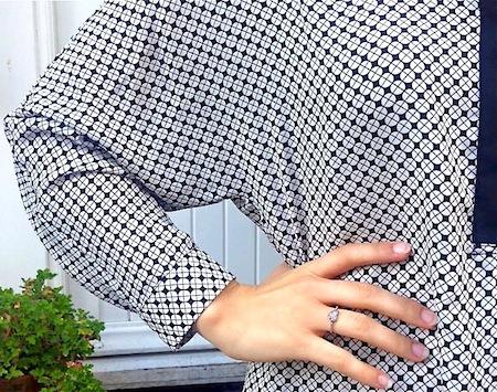 detail de la chemise mango