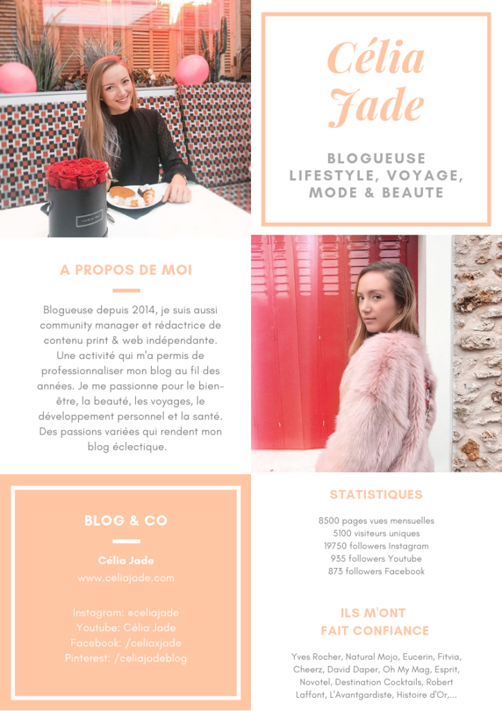 Kit Media Celia Jade decembre 2018