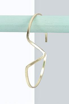 gold cuff bracelet boohoo