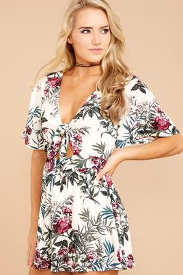 robe florale