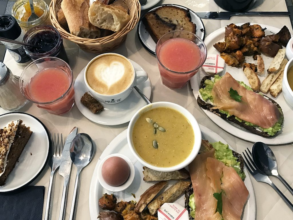 brunch au cafe marlette