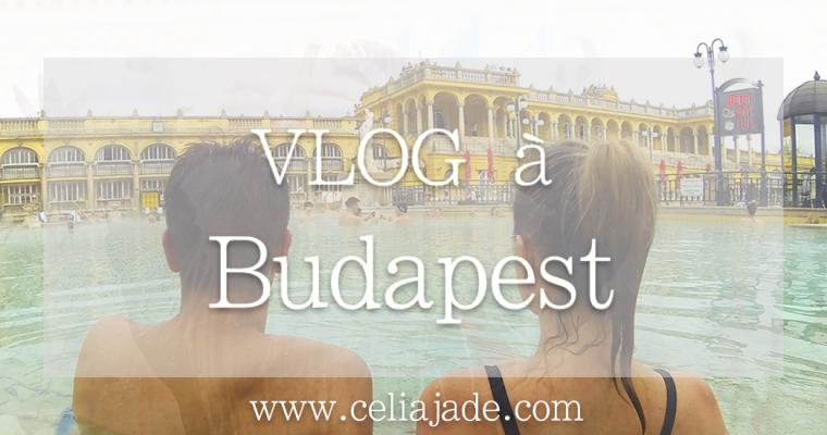 VLOG : Mon week-end à Budapest en vidéo !