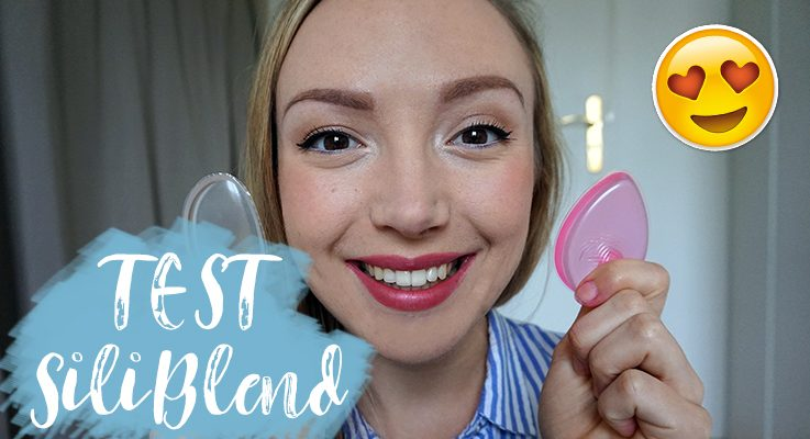 Test SiliBlend : éponge à maquillage en silicone + CODE PROMO