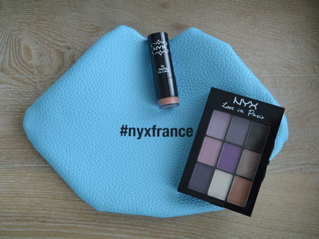 pochette makeup cadeau nyx au val d'europe