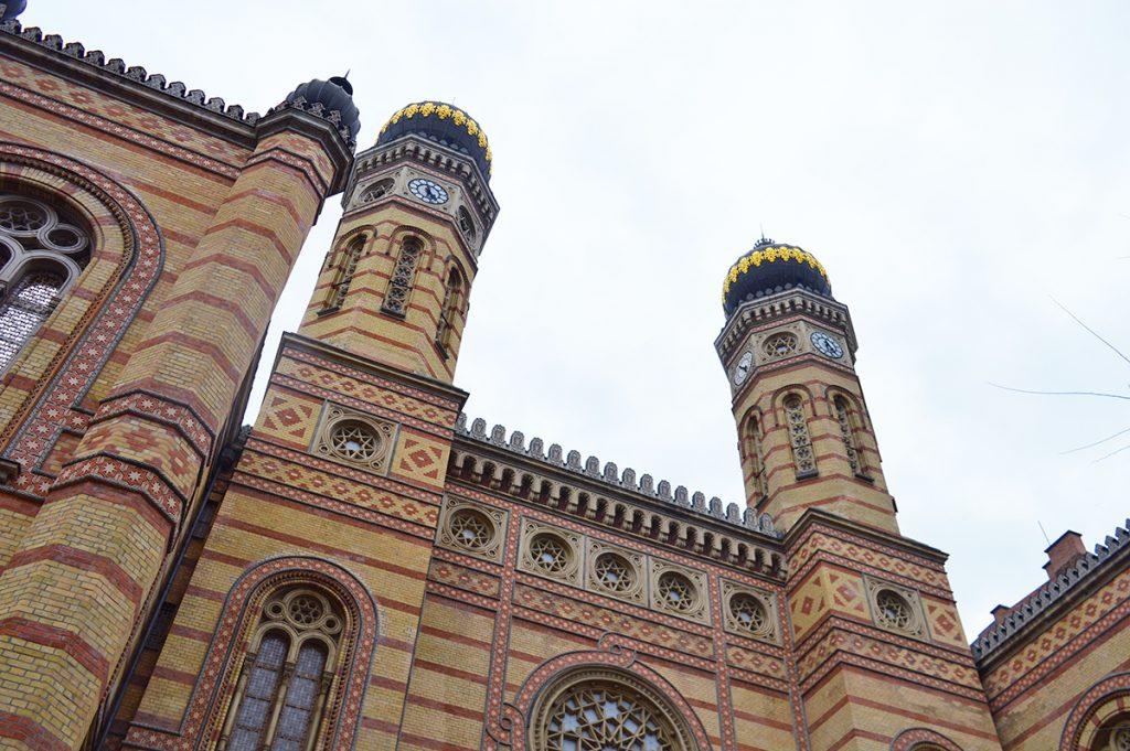 synagogue de budapest en hongrie