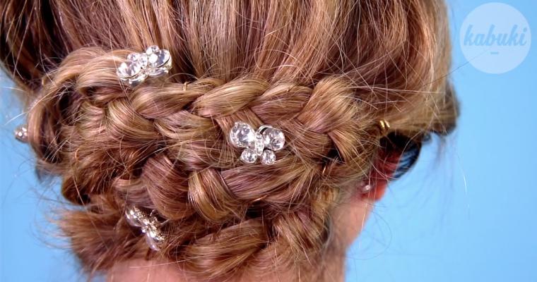 Tutoriel coiffure : Chignon tressé