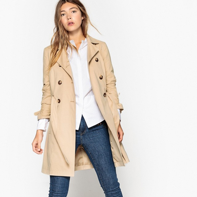 trench camel la redoute