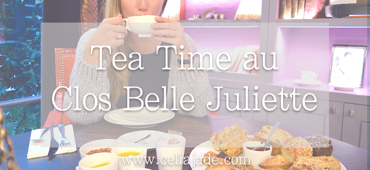 Tea time à Paris au Clos Belle Juliette ****