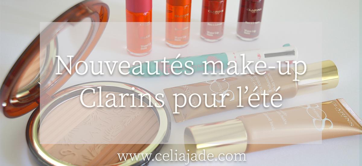 Makeup: les nouveautés Clarins pour l'été