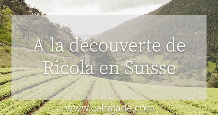 A la découverte de la fabrication des bonbons Ricola en Suisse