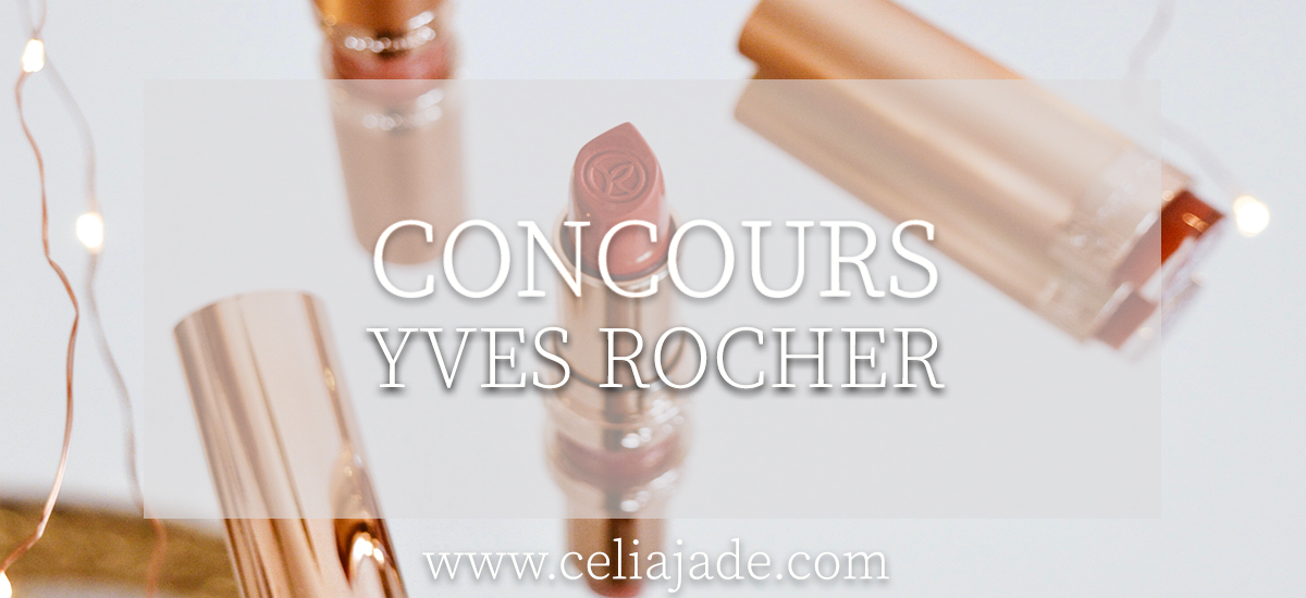 CONCOURS : Gagne ton rouge à lèvres Yves Rocher Grand Rouge
