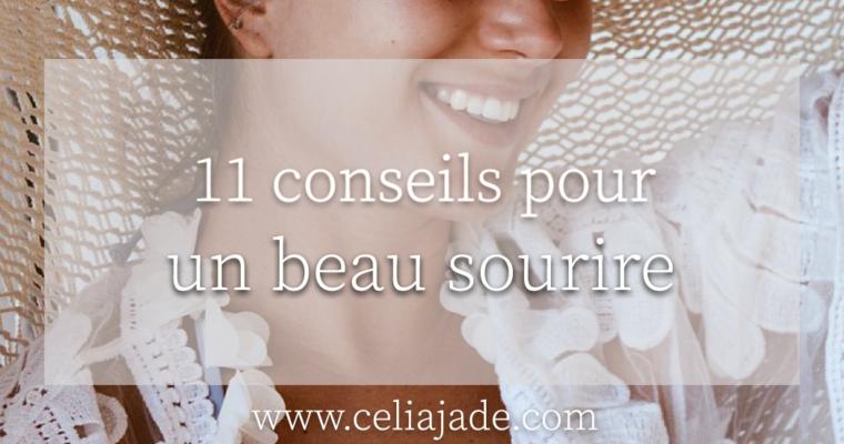 11 conseils pour un beau sourire