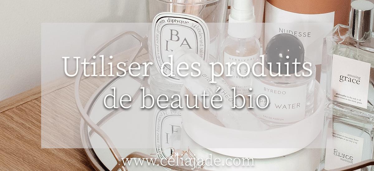 Faut-il passer aux produits bio pour la peau ?