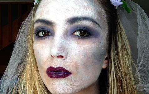Tuto Maquillage Halloween \u2013 Mariée Fantôme / Zombie
