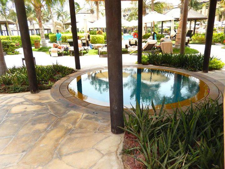 jacuzzi piscine hotel sofitel dubai