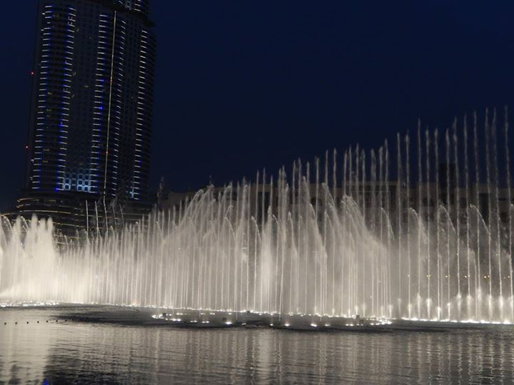 fontaines de dubai show