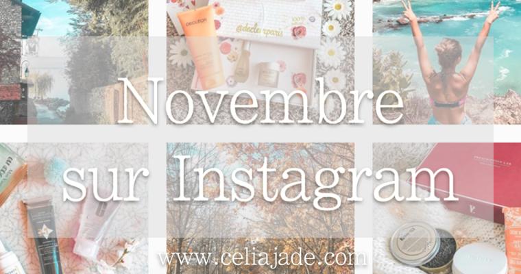 Quoi de neuf en novembre sur Instagram ?