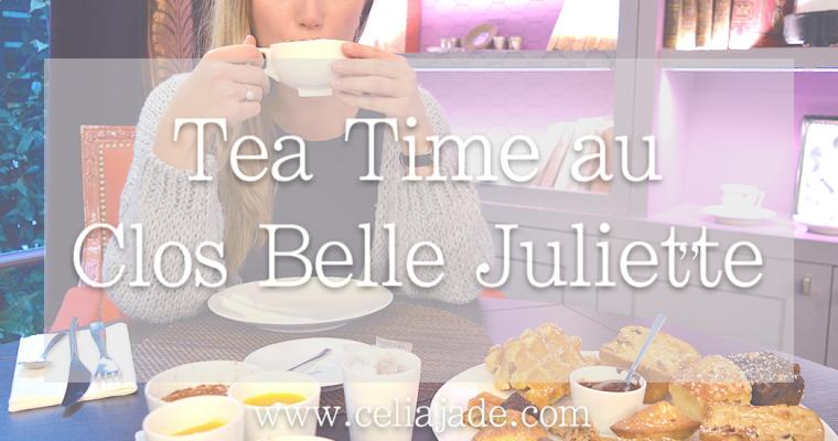 Tea time à Paris au Clos Belle Juliette ****