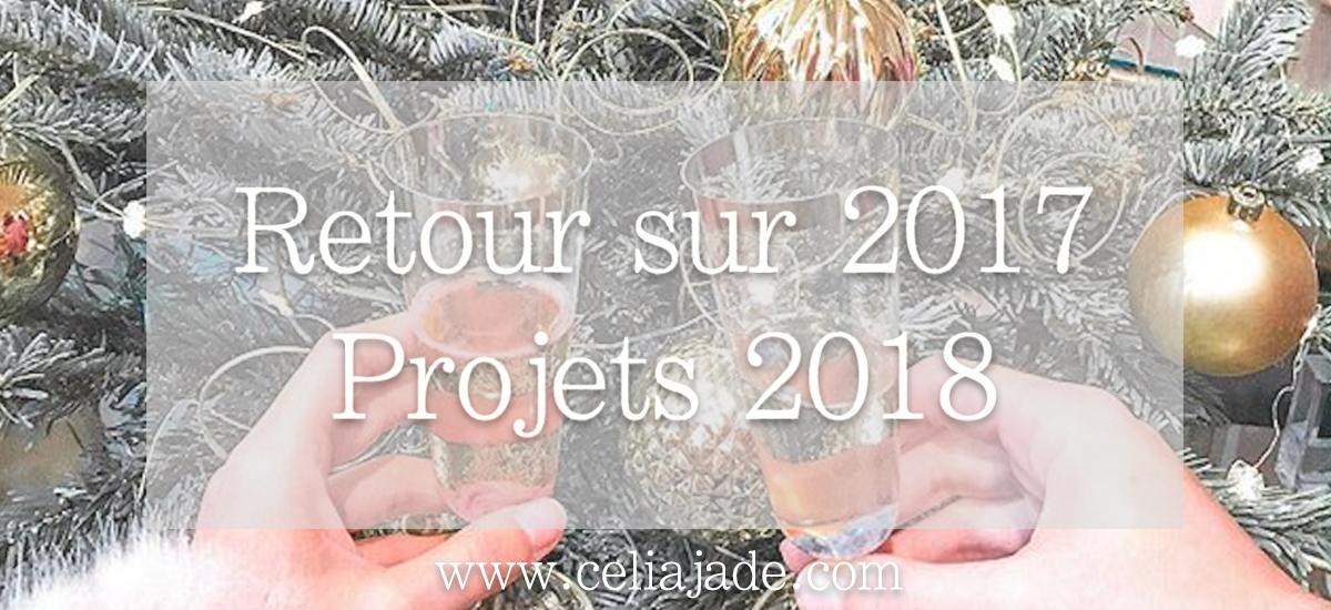 Mon retour sur 2017 + mes projets pour 2018