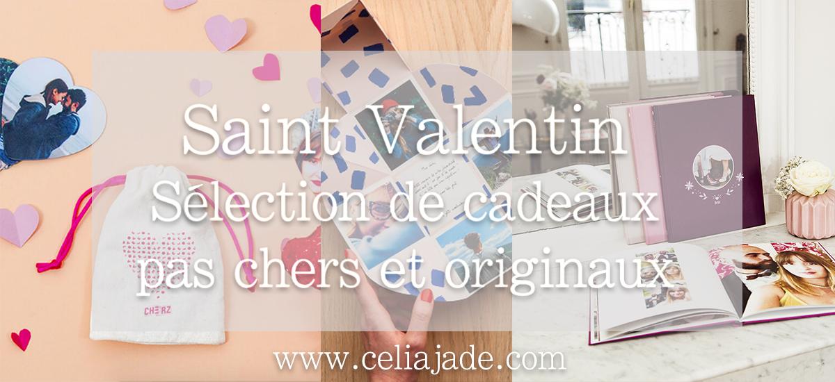 Saint Valentin : sélection de cadeaux originaux à petits prix !