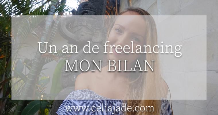 Vie de freelance : mon bilan à un an