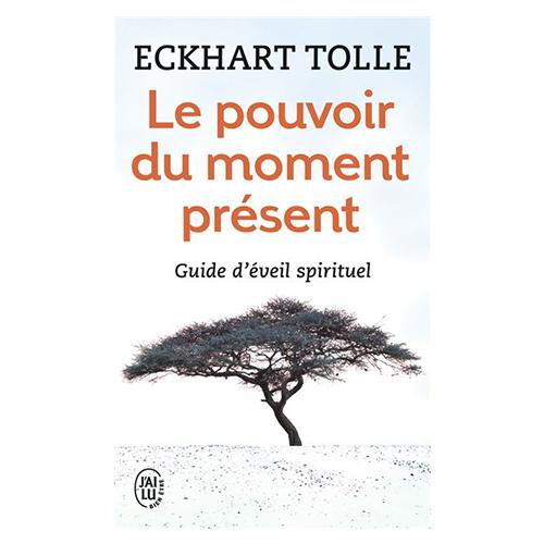 livre le pouvoir du moment present d'eckhart tolle