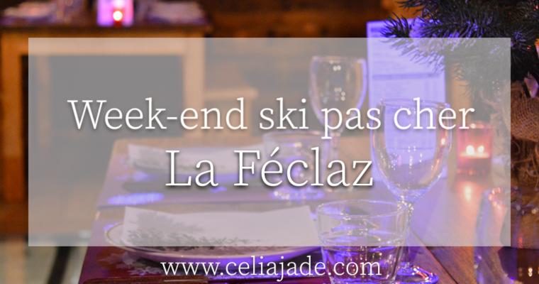 Week-end ski à La Féclaz (Alpes) : budget, restaurants, hébergement